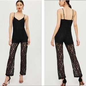 NWT WYLDR Lace Jumpsuit